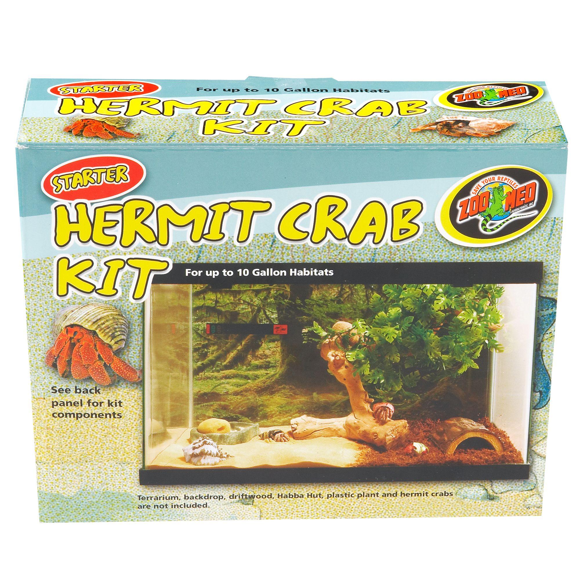 Zoo Med Hermit Crab Starter Kit Reptile Terrariums Petsmart