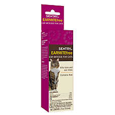 SENTRY® HC EARMITEfree™ Ear Miticide for Cats
