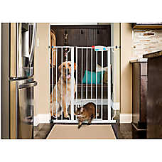 Carlsonu0026trade; Pet Products Extra Tall Walk Thru Pet Gate