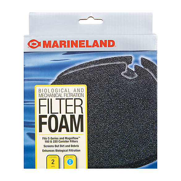 Marineland filter foam fish filter media petsmart for Petsmart fish filters