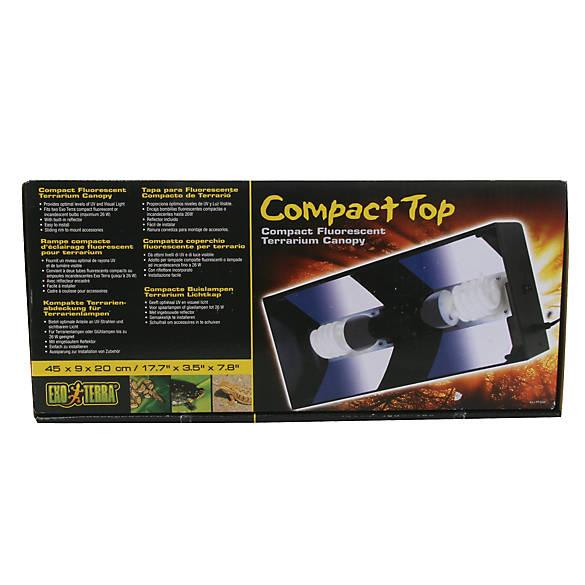 Exo Terra 174 Compact Top Fluorescent Terrarium Canopy