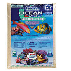 CaribSea Ocean Direct Caribbean Live Aquarium Sand