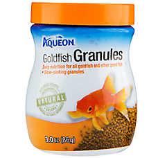 Aqueon goldfish granules fish food fish food petsmart for Petsmart fish guarantee
