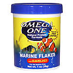 Omega™ One Marine Garlic Flakes Fish Food