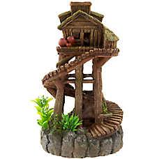 Top Fin® Tree House Aquarium Ornament