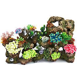 Top Fin® Stone & Coral Bubbler Aquarium Ornament