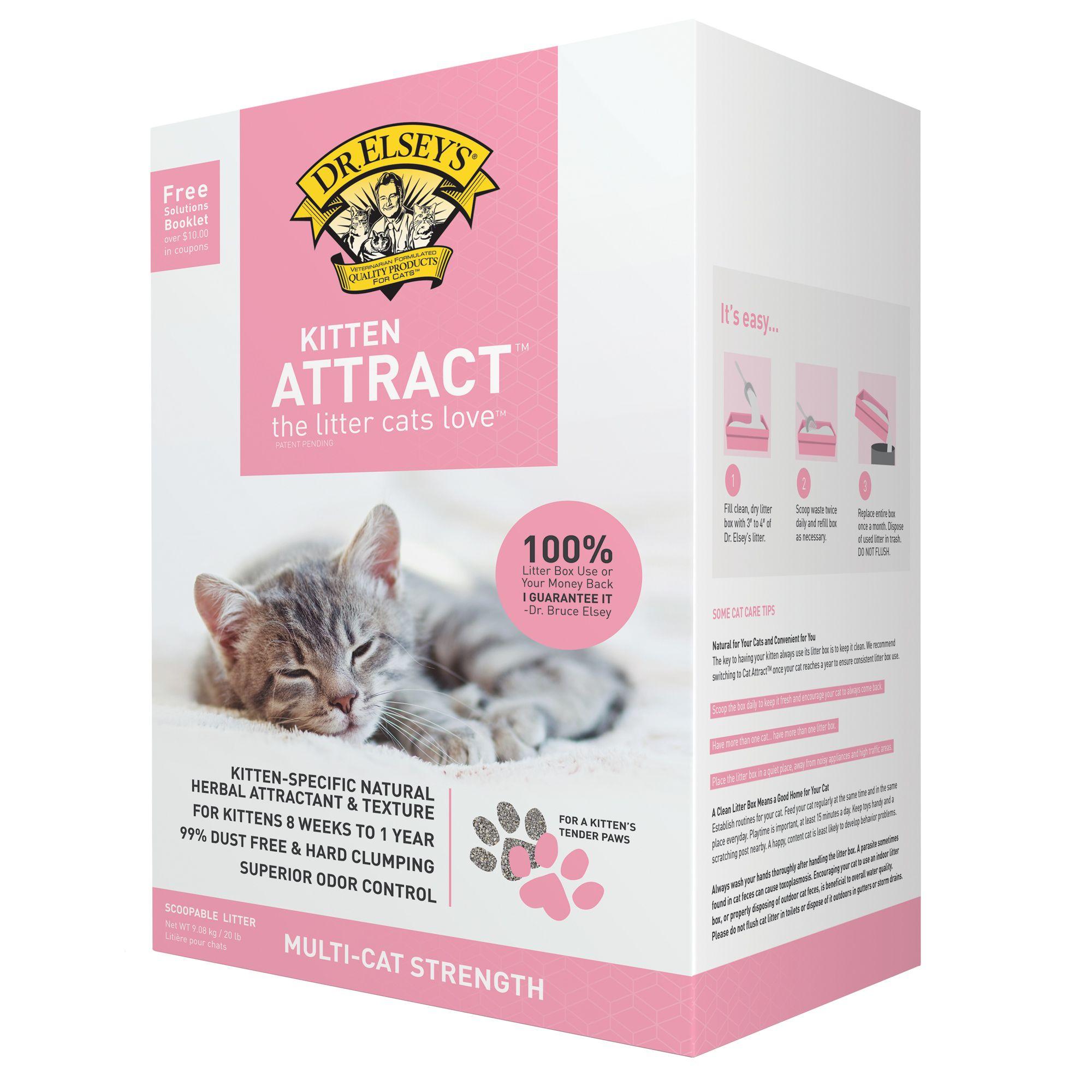 Dr Elsey S Precious Cat Kitten Attract Litter Clumping Multi Cat Strength Cat Litter Petsmart