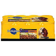 PEDIGREE® Choice Cuts™ 12 Can Variety Pack Dog Food