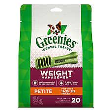GREENIES® Weight Management Petite Dental Dog Treat