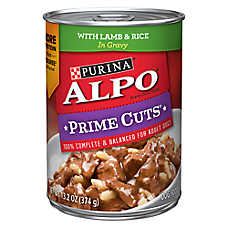 Purina® ALPO® Prime Cuts Adult Dog Food - Lamb & Rice