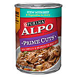 Purina® ALPO® Prime Cuts Adult Dog Food - Stew with Beef & Vegetables