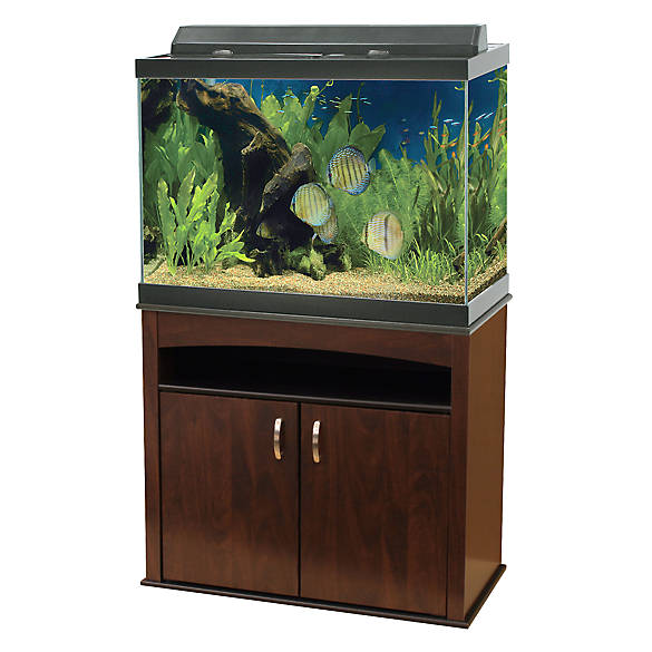 Aqueon 65 gallon aquarium ensemble fish aquariums for 65 gallon fish tank