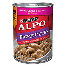 Purina® ALPO® Prime Cuts Adult Dog Food - Turkey & Bacon