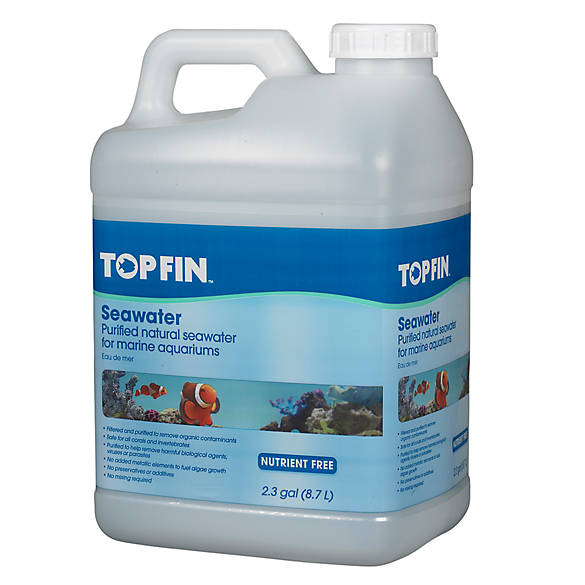 Top Fin 174 Purified Natural Seawater Fish Salt Water