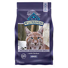BLUE Wilderness® Adult Cat Food - Grain Free, Natural, Chicken