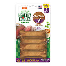 Nylabone® Healthy Edibles® Gluten-Free Dog Treats - 8 Pack