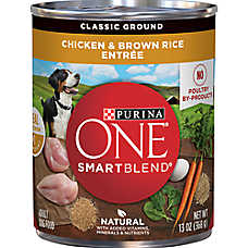 sale 7 / $10	entire stock Purina® ONE® dog food, 13 oz. cans