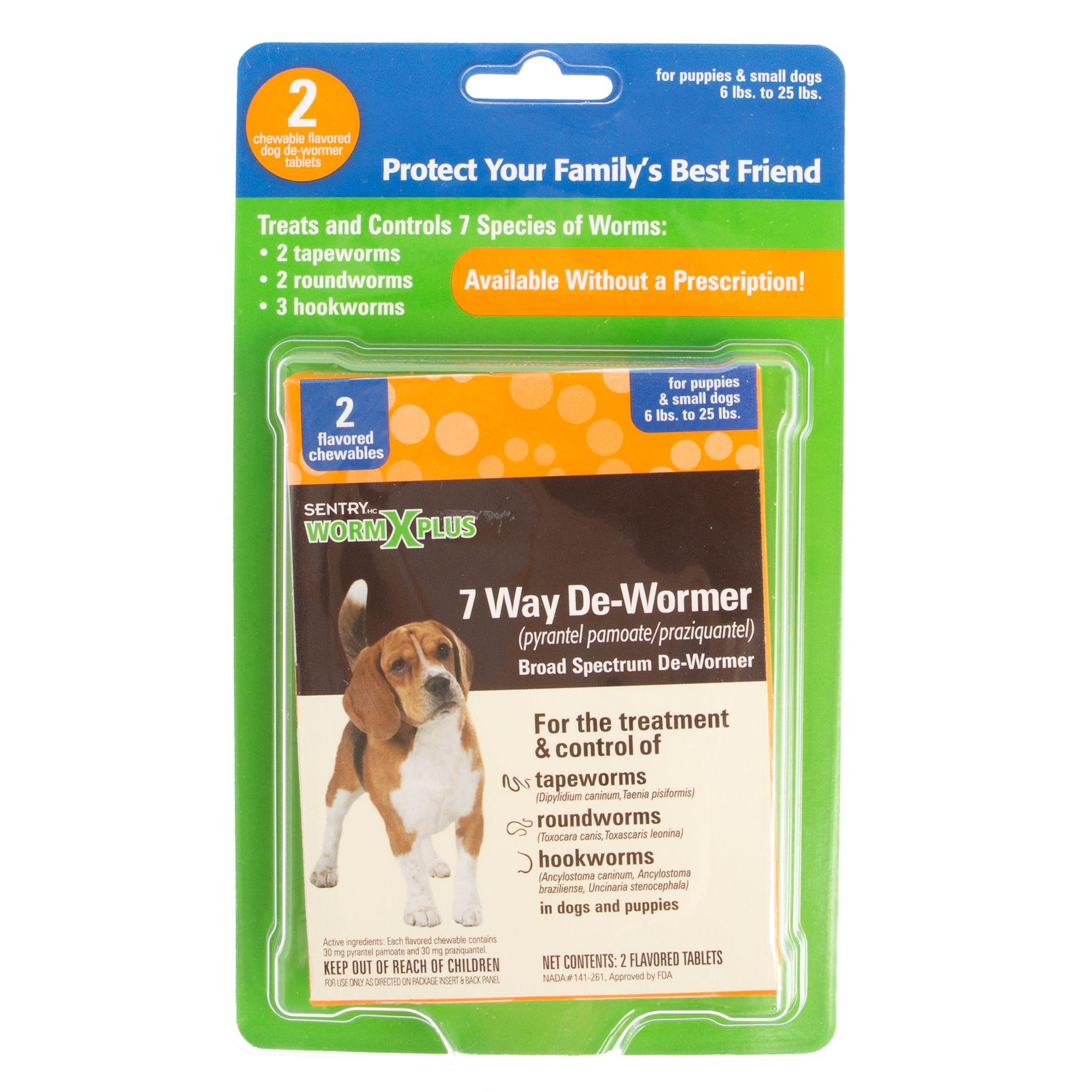 Sentry Worm X Plus 7 Way Broad Spectrum Dog De Wormer 2 Pack Dog Treatments Petsmart
