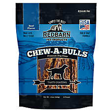 Redbarn Chew-A-Bulls Dog Treat