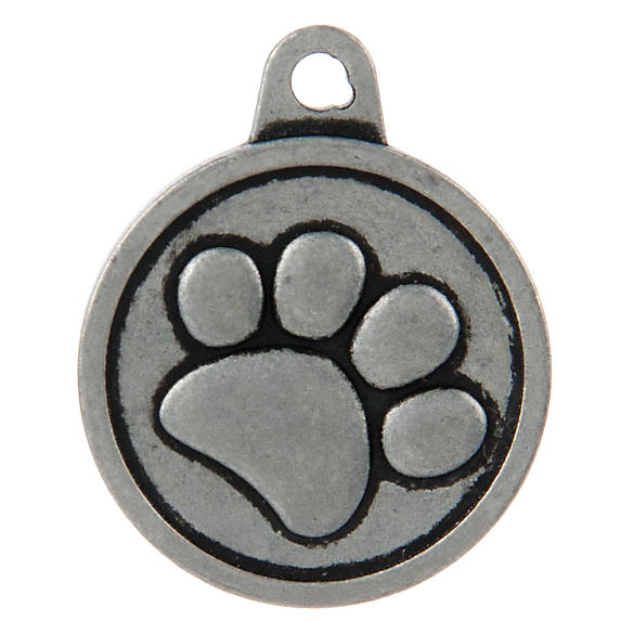 Tagworks 174 Boutique Collection Paw Personalized Pet Id Tag