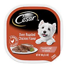 sale 10 / $9 entire stock Cesar® dog food, 3.5 oz. tubs