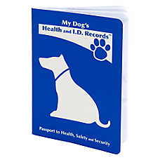 MDI Health & I.D. Record Dog Passport