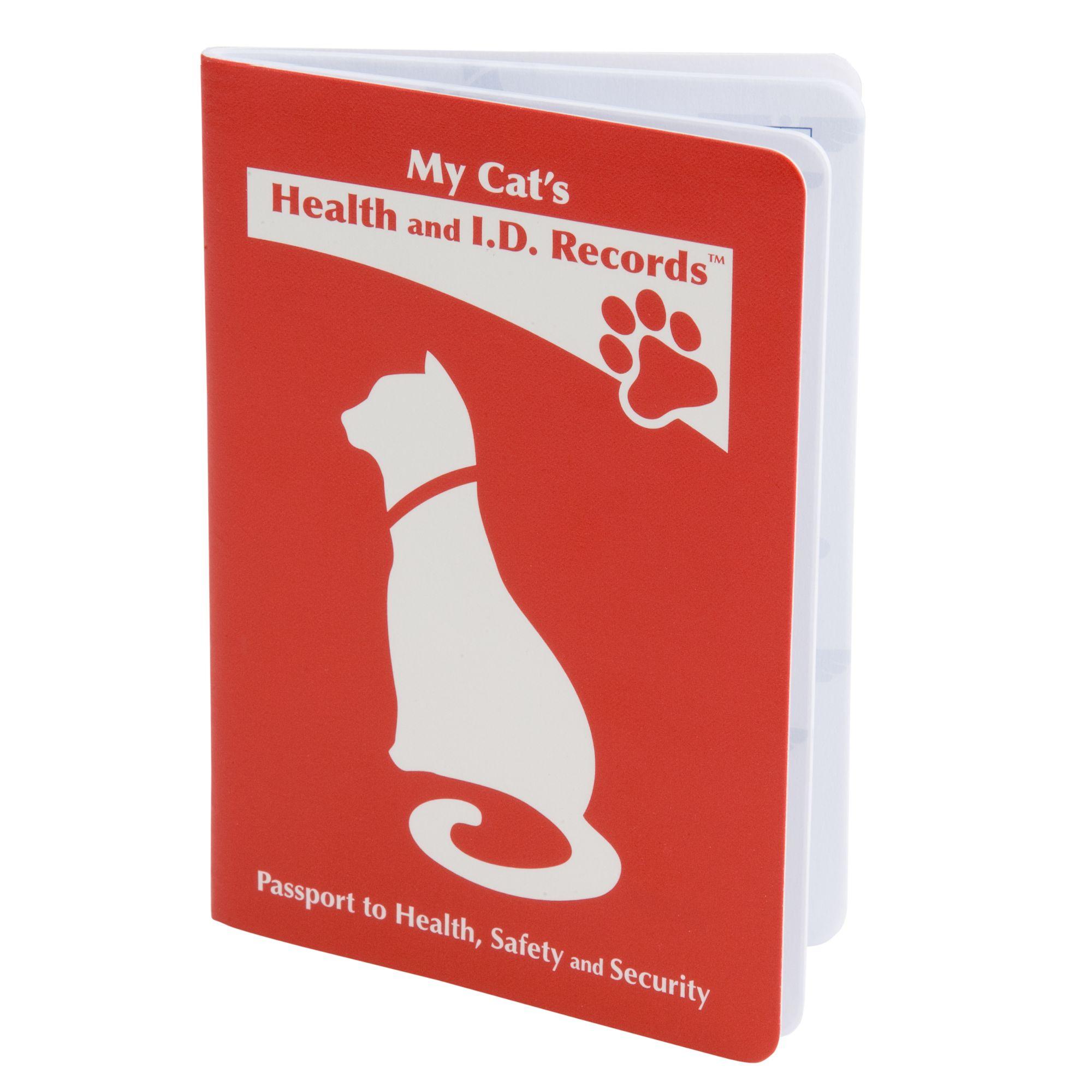 Mdi Health I D Record Cat Passport Cat Treatments Petsmart