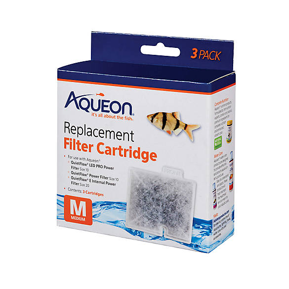 Aqueon Replacement Aquarium Filter Cartridges Fish Filter Media Petsmart