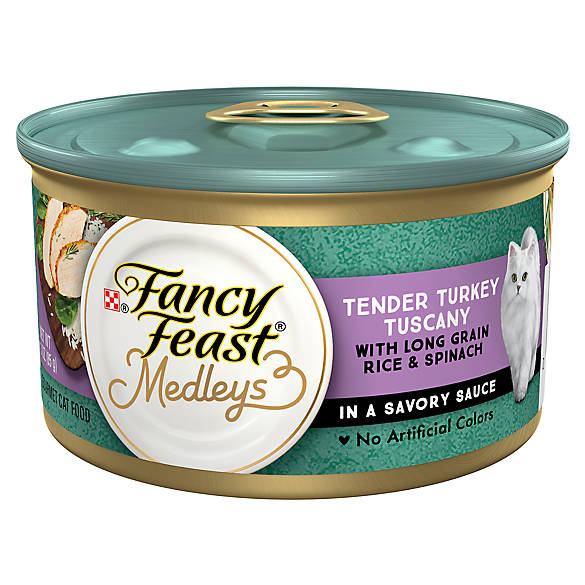 Fancy Feast® Medleys Tuscan-Inspired Adult Cat Food | Tuggl