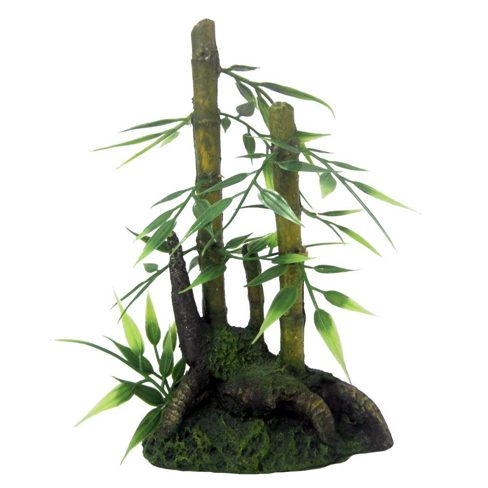 Top Fin Artificial Bamboo Plant Fish Artificial Plants Petsmart