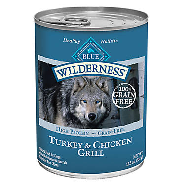 Blue Wilderness Dog Food Grain Free Natural