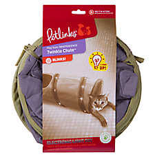 Petlinks® Twinkle Chute Tunnel Cat Toy