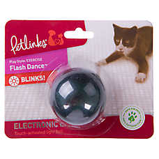 Petlinks® Flash Dance™ Ball Cat Toy - Light-Up (COLOR VARIES)