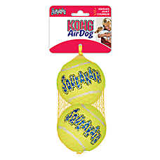 KONG® AirDog® Tennis Ball Set Squeaker Dog Toy - 2 Pack