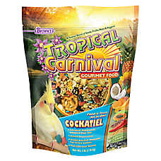 Brown's® Tropical Carnival Cockatiel Food