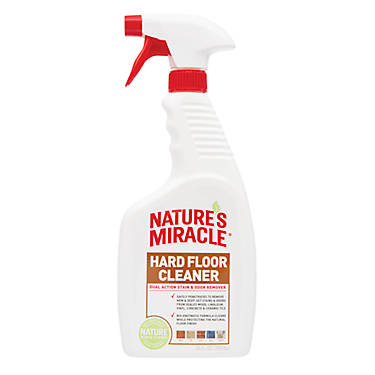 Nature S Miracle 174 Hard Floor Cleaner Dual Action Pet Stain