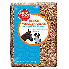 Grreat Choice® Cedar Wood Shavings Pet Bedding