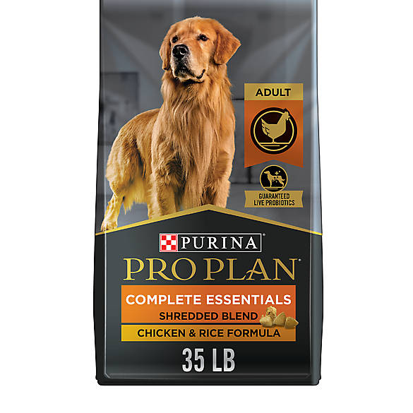 Purina Pro Plan Savor Shredded Blend Dog Food En Rice