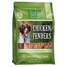 VitaLife Chicken Tenders Dog Treat - Natural, Gluten Free, Chicken