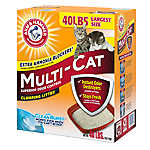 ARM & HAMMER™ Multi-Cat Extra Strength Clumping Cat Litter