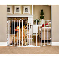 Carlson™ Pet Products Flexi Extra Tall Walk-Thru Pet Gate