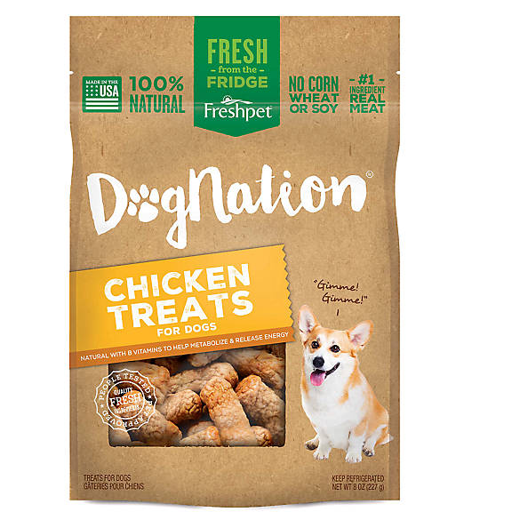 Freshpet® Dognation® Dog Treat - Natural, Chicken