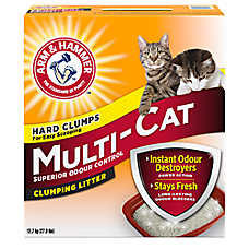 ARM & HAMMER™ Multi-Cat Cat Litter - Clumping