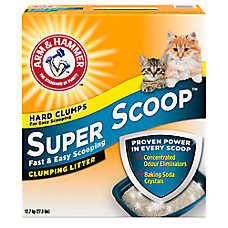 ARM & HAMMER ™ Super Scoop® Cat Litter - Clumping