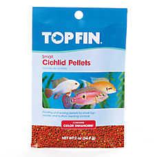 Top Fin® Cichlid Color Enhancing Small Pellets Fish Food