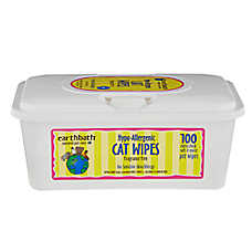 earthbath® Hypo-Allergenic Cat Wipes - Fragrance Free