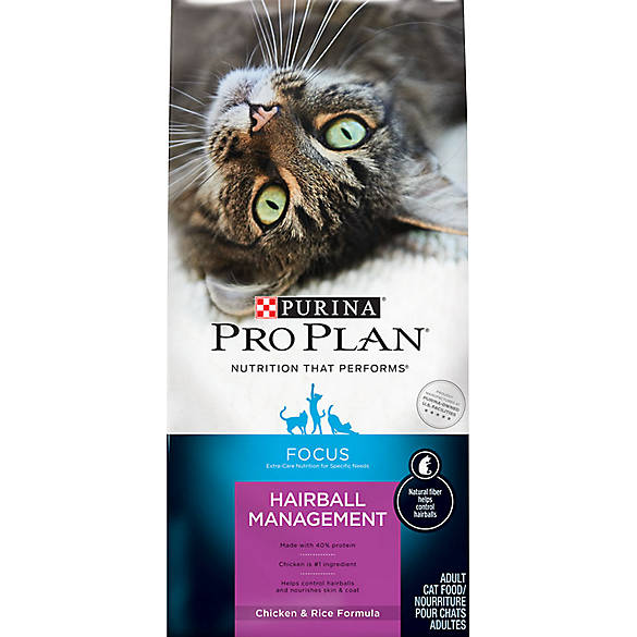 Purina Pro Plan Focus Hairball Management Adult Cat Food Cat Dry