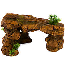 top fin rock cave aquarium ornament
