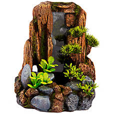 Top Fin® Mountain Cliff Aquarium Ornament