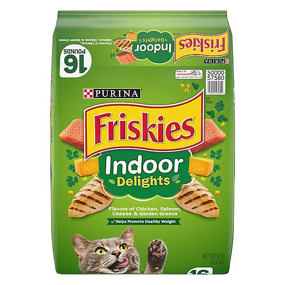 Purina Friskies Indoor Delights Adult Cat Food Cat Dry Food